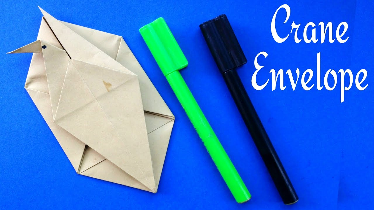 Origami Envelope (A4 Sheet) - YouTube | 720x1280