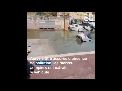 Marseille: Une voiture plonge dans le Vieux-Port à cause du GPS