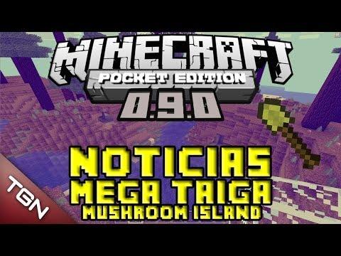 Noticias Minecraft PE 0.9.0 | Mega Taiga (Mushroom Island) | Tommaso Checchi