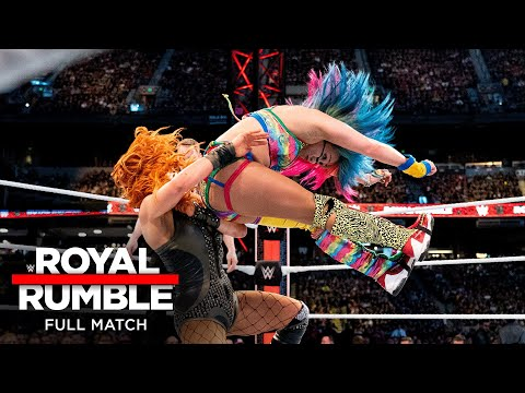 FULL MATCH - Asuka vs. Becky Lynch – SmackDown Women's Title Match: Royal Rumble 2019