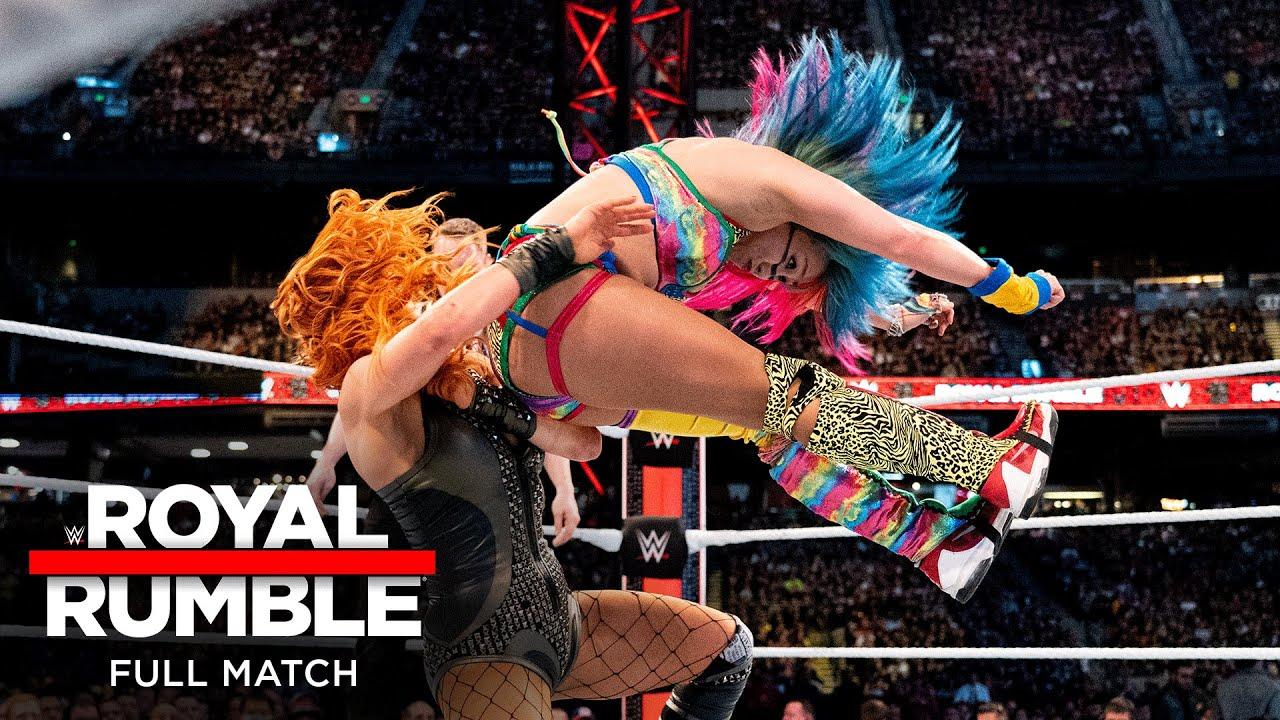 Download FULL MATCH - Asuka vs. Becky Lynch – SmackDown Women's Title Match: Royal Rumble 2019