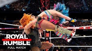 FULL MATCH - Asuka vs. Becky Lynch – SmackDown Women's Title Match: Royal Rumble 2019