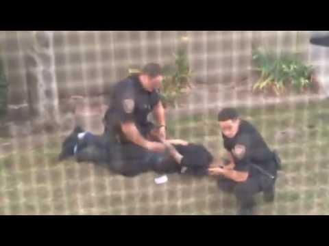 OXNARD POLICE: Excessive force, brutality vs. suspect // Uso excesivo de la fuerza, brutalidad