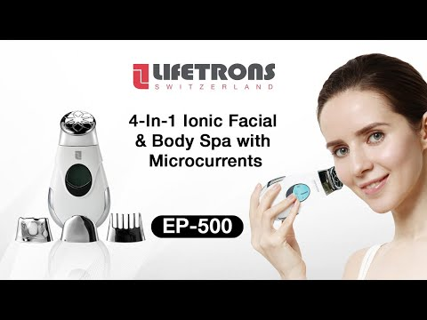 [MYB Collaboration] Lifetrons 4-In-1 Ionic Facial & Body Spa with Microcurrent Technology (EP-500)