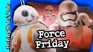 Force Friday Toy Haul Disney Store! HobbyTiger + HobbySpider by HobbyKidsVids