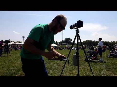 BigRigTravels LIVE! Solar Eclipse Festival Ste. Genevieve, Missouri