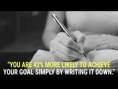 The Power of Writing Down Your Goals & Dreams | Mary Morrissey