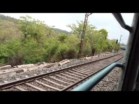 Journey through the forest of Chota Nagpur by train . Jharkhand