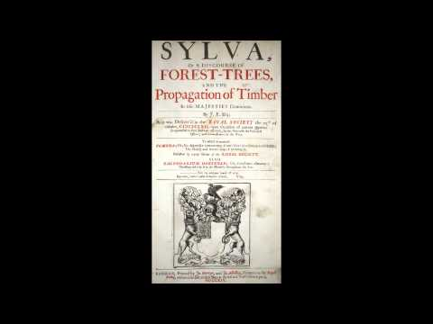 John Evelyn, Sayes Court Garden and The Royal Society