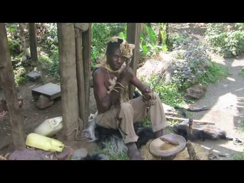 The witch doctor / spiritual healer, Uganda