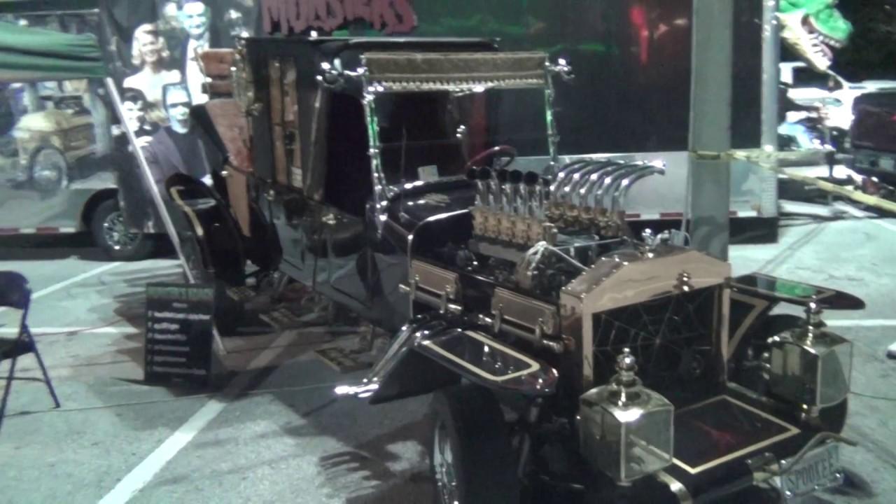 Adams Family Car Munster Koach