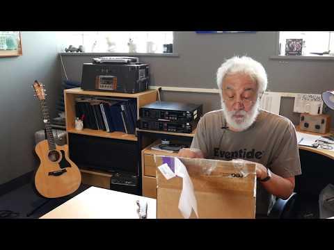 Eventide's Tony Agnello Grammy Unboxing
