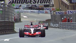 Alonso and Hamilton Duel in Monaco | 2007 Monaco Grand Prix
