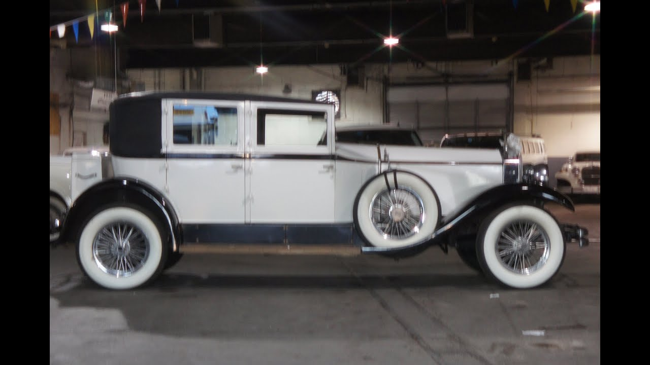 Limo For Sale >> ~~SOLD~~1929 Rolls Royce Limo Limousine For Sale~Modern Drive Train~Brewster & Company - YouTube