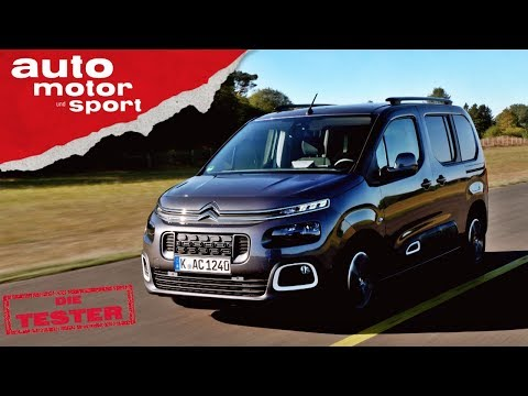 Citroen Berlingo: Der coolere Caddy? - Test/Review | auto motor und sport