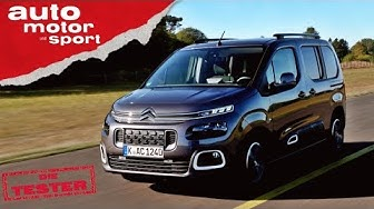 Citroen Berlingo: Der coolere Caddy? - Test/Review | auto motor und sport