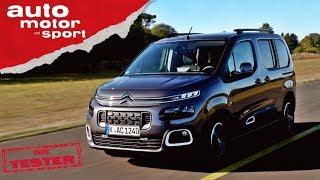Citroen Berlingo: Der coolere Caddy? - Test/Review   auto motor und sport