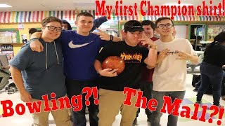My First Champion Shirt?! Bowling On The Last Day Of School?! (Episode 3.)