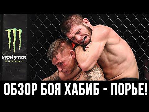 ОБЗОР БОЯ ХАБИБ НУРМАГОМЕДОВ ПРОТИВ ДАСТИНА ПОРЬЕ НА UFC 242!