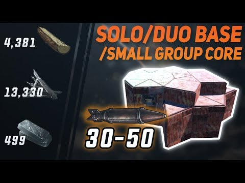 SOLO / DUO Bunker Base | Rust Base Design 2019 thumbnail