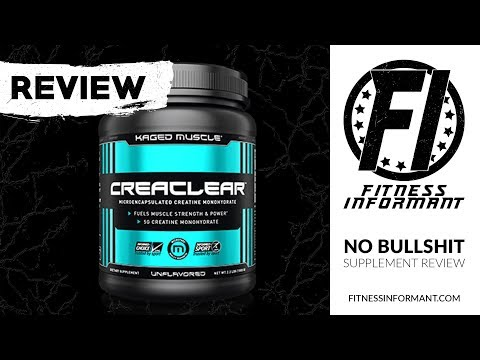 Kaged Muscle Supplements CreaClear REVIEW: A Better Creatine Monohydrate