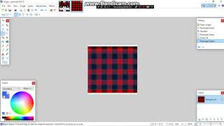 How to make a Black x Red Flannel shirt (ROBLOX)(PAINT.NET)