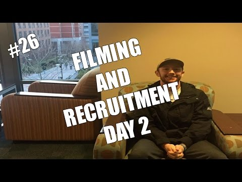 Recruitment Day 2 And More Filming | Daily Vlog #26