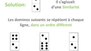 Tests psychotechniques dominos: IFSI