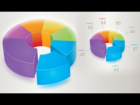 Infographic Tutorial infographic tutorial illustrator logo tutorial : Illustrator Tutorial | Graphic Design | 3D Infographics (pie ...