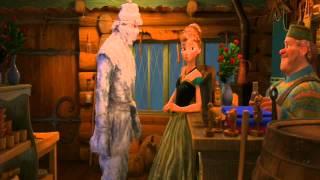 Frozen Oaken Sauna Scene