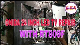 ONIDA LED tv power light showing tv not starting