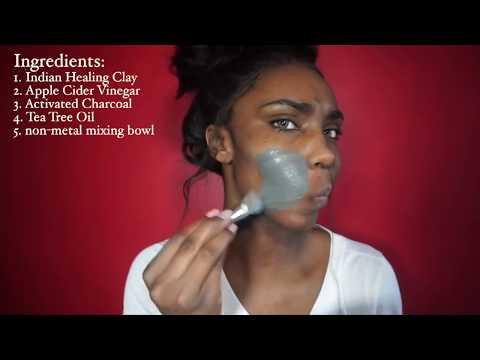 DIY: Best DIY face mask|Activated Charcoal|Tea tree oil|Oak Leaf