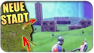 NEUE STADT mit Minen und Loot kommt 🏡 | Fortnite Battle Royale Edit Gameplay Deutsch German