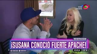 ¡Susana conoció Fuerte Apache!