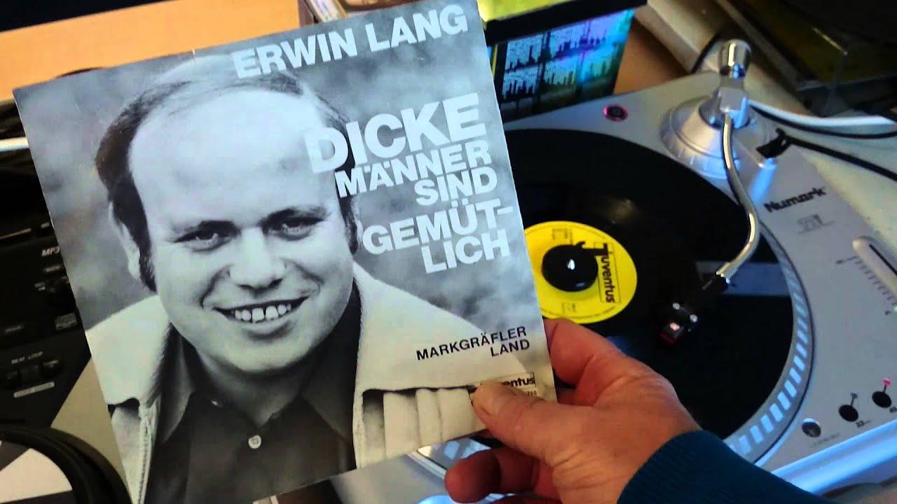 Erwin Lang  Dicke Manner sind gemutlich  YouTube