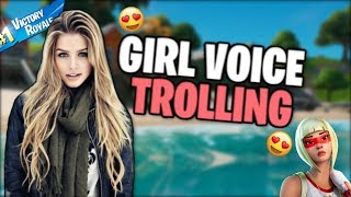 GIRL VOICE TROLLING A THIRSTY GIRL 🤤
