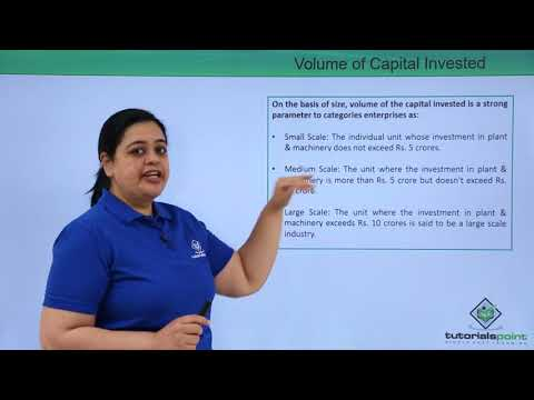 Size and Capital based Classification of Business Enterprises
