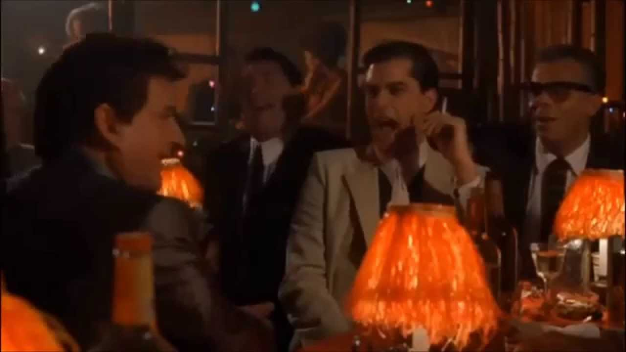 Ray Liotta laughing in Goodfellas - YouTube