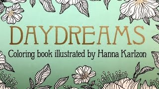 Coloring In DayDreams By Hanna Karlzon