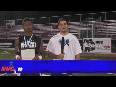 Devonte Williams - Freshmen Running Back MVP - NUC Ultimate 100 East Football Camp
