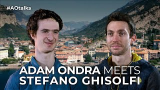 Adam Ondra and Stefano Ghisolfi talk