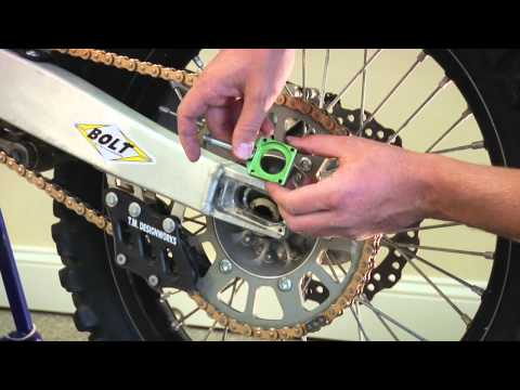 Kawasaki Chain Adjuster Blocks Installation