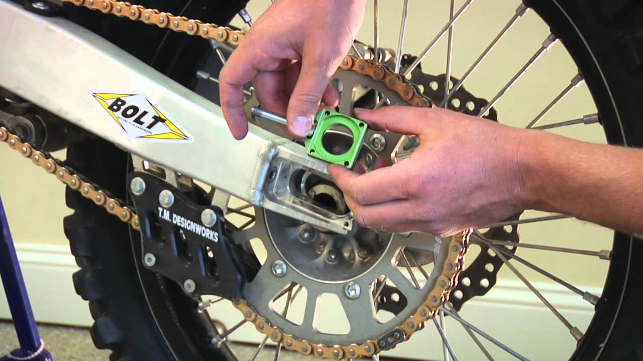 babbitt chain wheel installation instructions