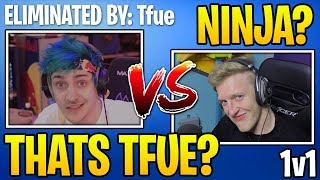 Tfue *KILLS* Ninja on Stream