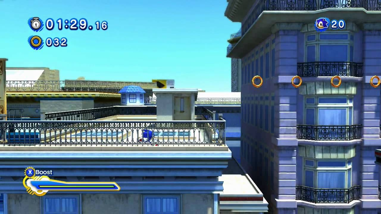 sonic generations city escape modern pc hd youtube