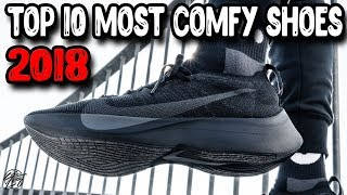 Top 10 Most Comfortable Shoes of 2018! React Boost Hovr?!