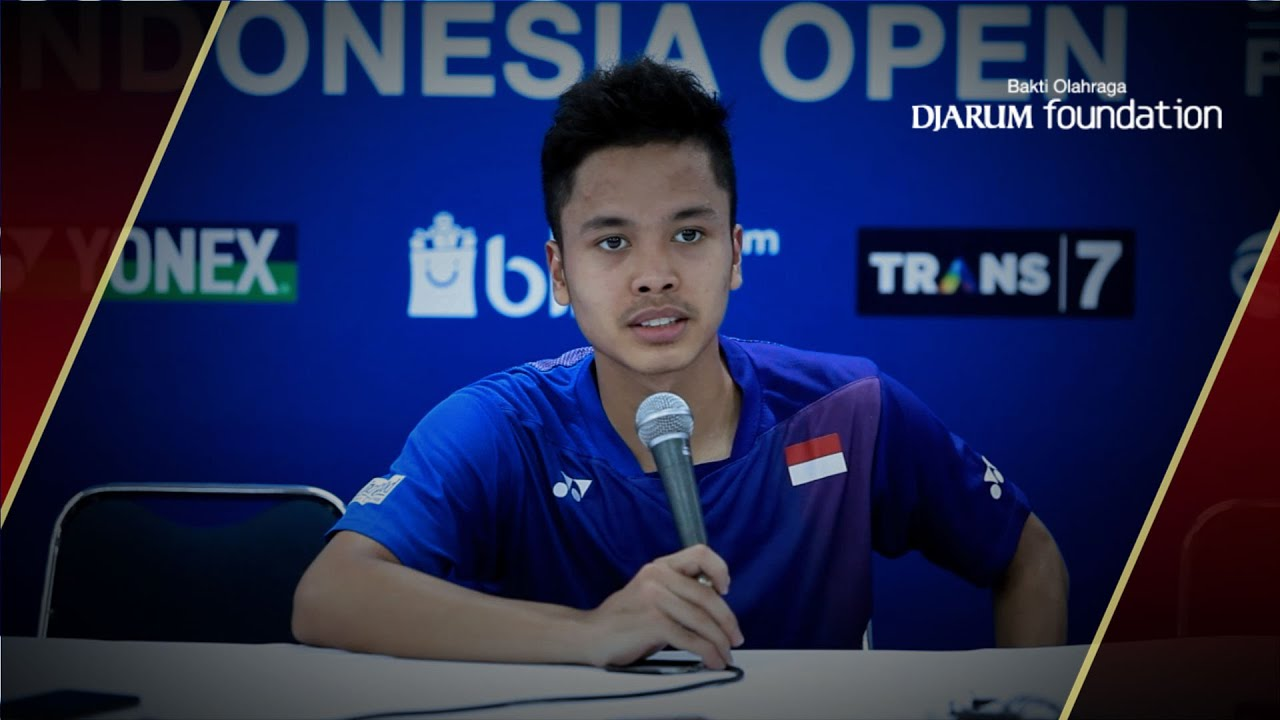 Interview Anthony Sinisuka Ginting INA After Defeated by Jan O