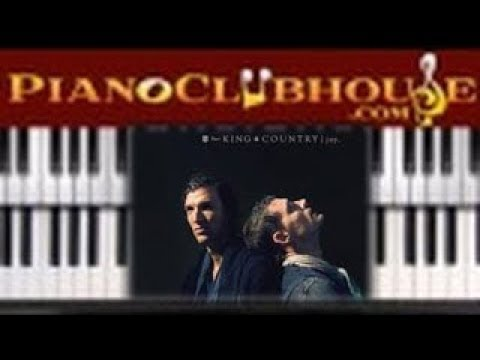 """🎹 How to play """"JOY"""" by For King And Country (easy Christian piano tutorial lesson free)"""