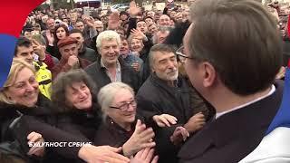 Predsednik Aleksandar Vučić počinje kampanju
