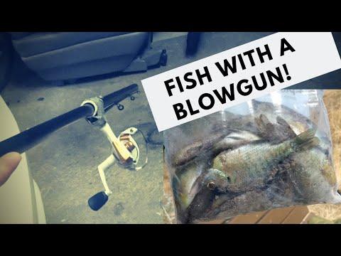 DIY Detachable Blowgun Fishing Rig (Frogs, Fish, Etc)